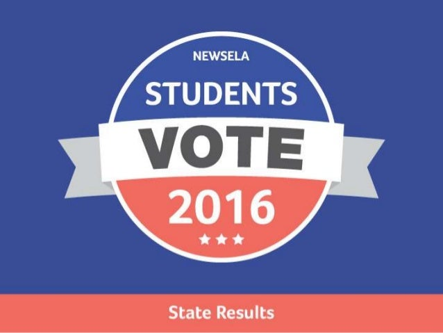 Students Vote 2016: State Results