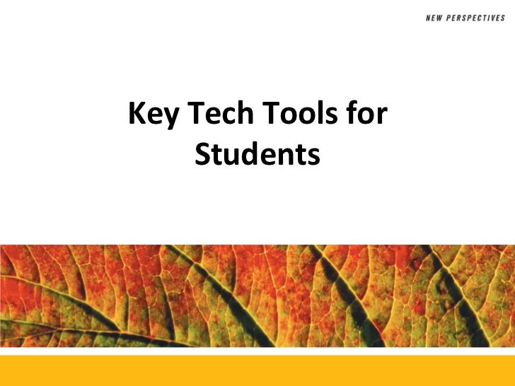 Key Tech Tools for        StudentsMicrosoft Office 2010          ®
