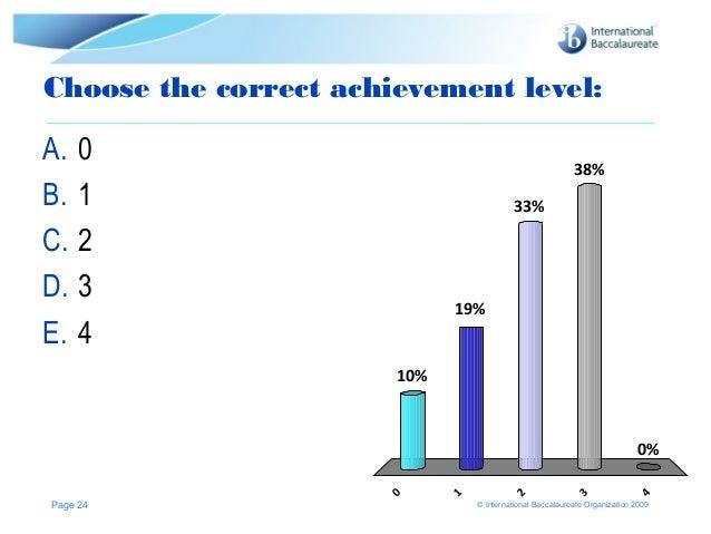 Essay assessment criteria