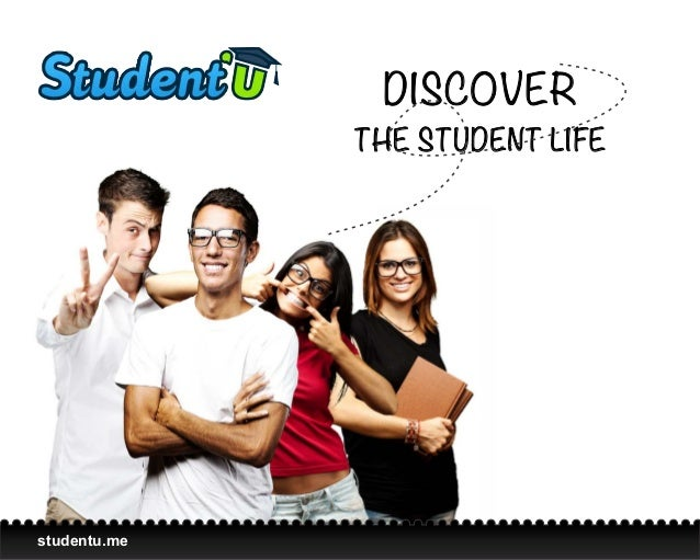DISCOVER              THE STUDENT LIFEstudentu.me