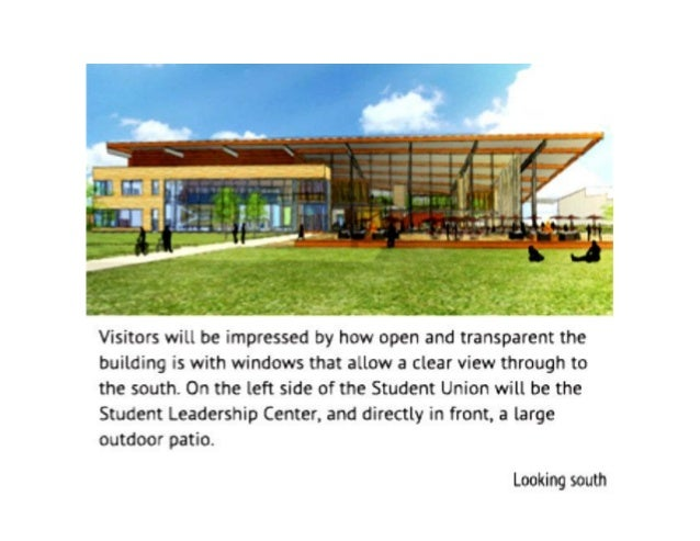Student Union Building Sample Part 1