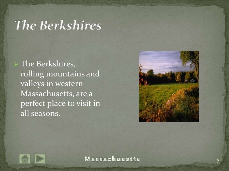 The Berkshires, rolling mountains and valleys in western Massachusetts, are a perfect place to visit in all seasons.<br />...