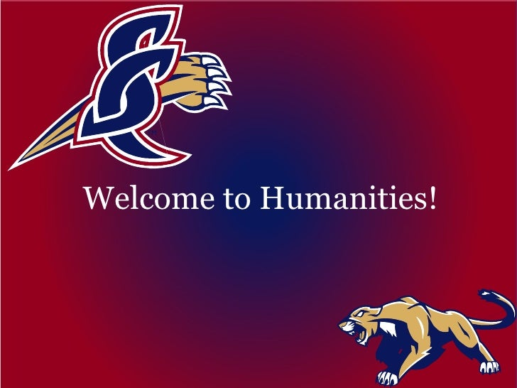Welcome to Humanities!