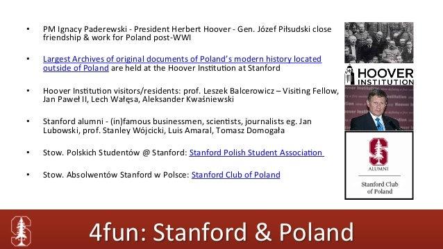 Studia @ Stanford: jak aplikować na Stanford University prezentacja