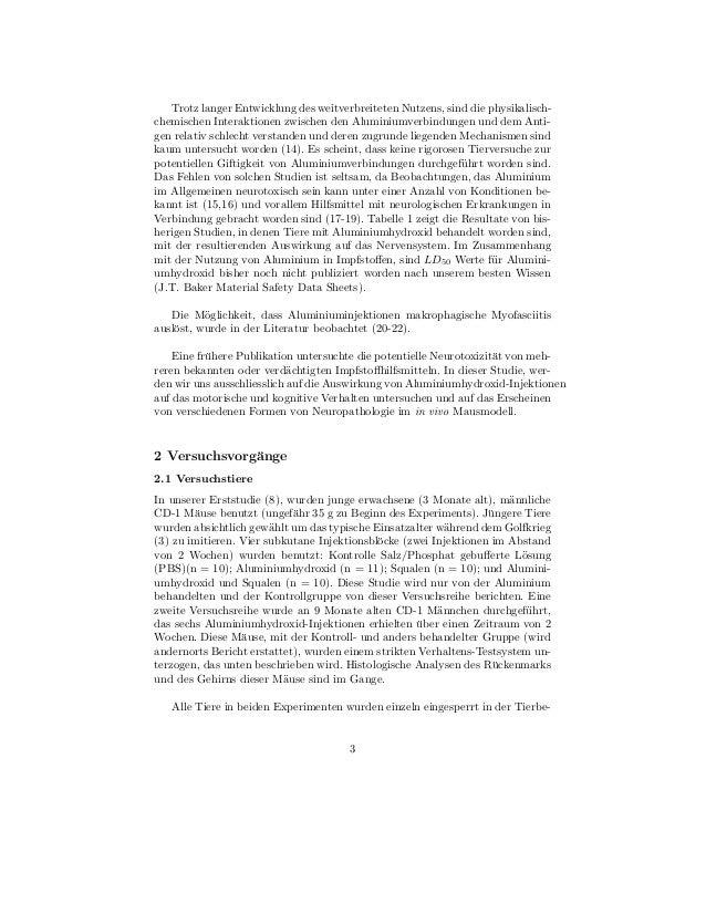 Trotz langer Entwicklung des weitverbreiteten Nutzens, sind die physikalisch-chemischen Interaktionen zwischen den Alumini...