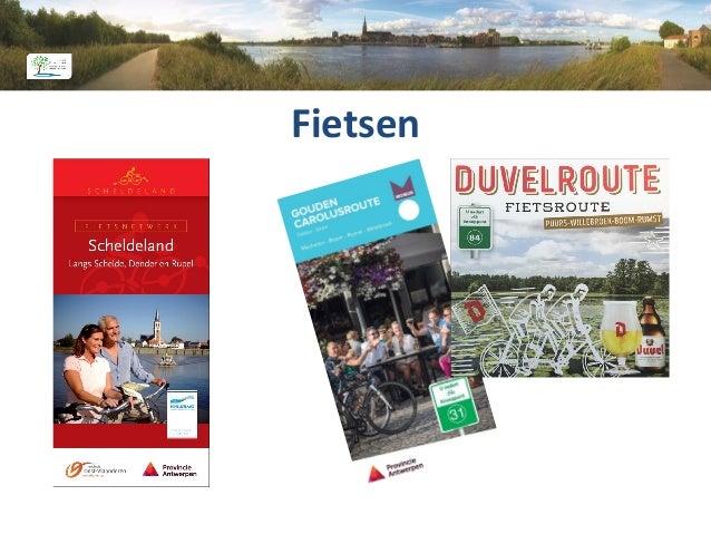 Toerisme Rupelstreek Infokantoor Rupelstreek Schommelei 1, Boom T: 03 880 76 25 E: info@toerismerupelstreek.be W: www.toer...