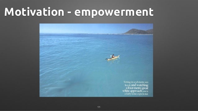 Motivation - empowerment 11
