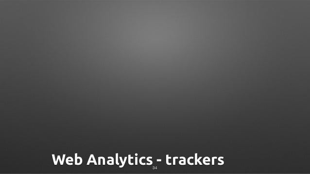 Web Analytics - trackers34