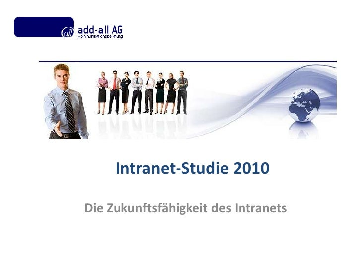 Studie Intranettrends 2010
