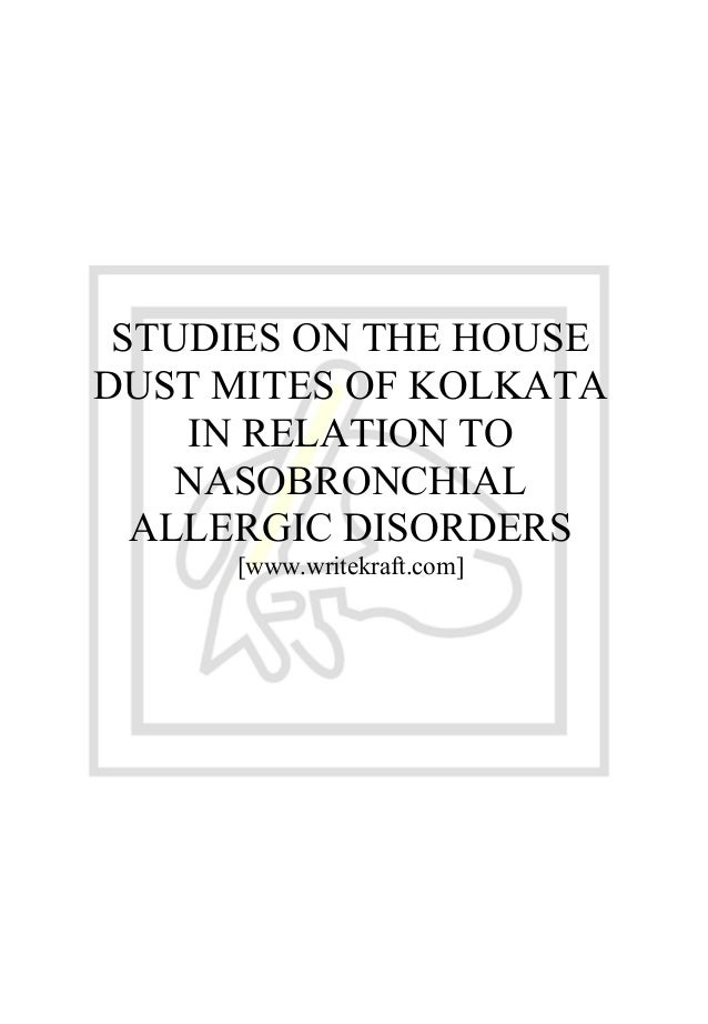 Carpet Dust Allergy
