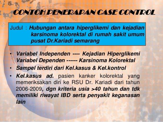 Epidemiologi Lanjut Penelitian Case Control