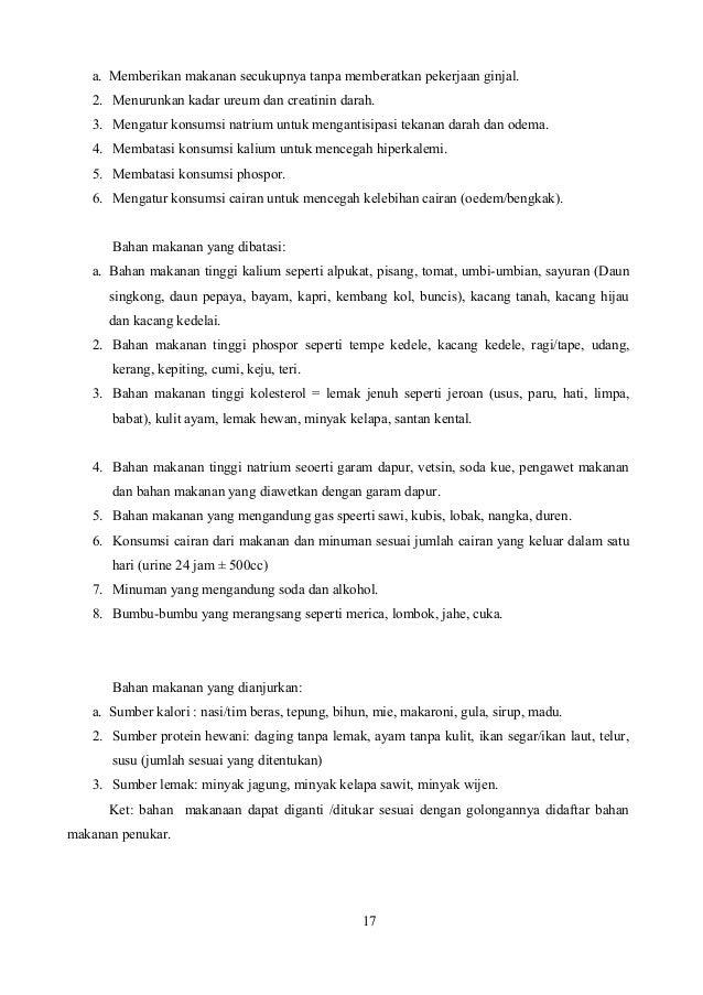 LAPORAN PENDAHULUAN GAGAL GINJAL KRONIK/ CHRONIC KIDNEY DISEASE (CKD)