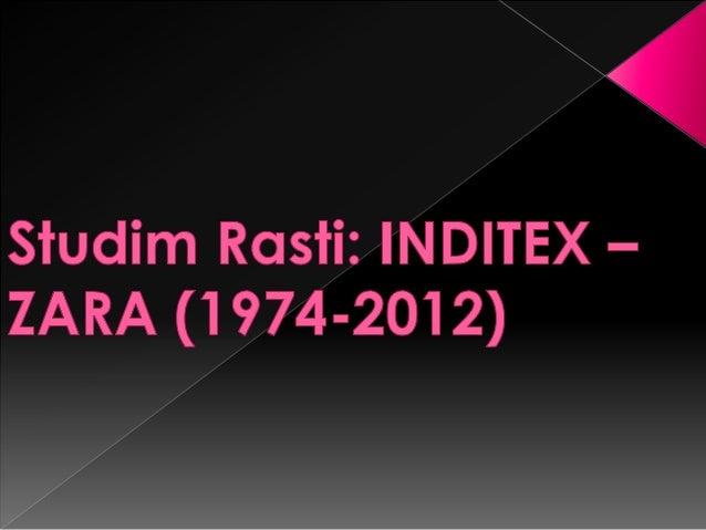 Industria de Diseño Tekstil, SA, zakonisht më injohur si Inditex është një korporatë e madhespanjolle dhe grupi më i madh ...