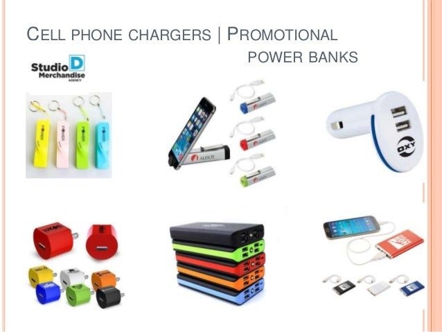 CELL PHONE CHARGERS   PROMOTIONAL POWER BANKS
