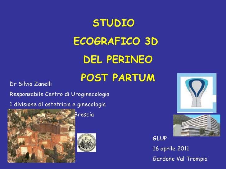 Studio ecografico 3 d zanelli
