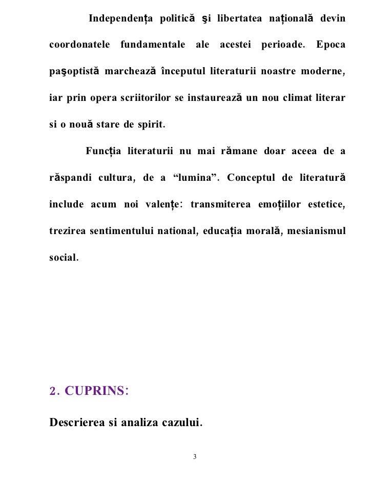 Studiu De Caz Romana 4 Rolul Literaturii  In Perioada Pasoptista Slide 3