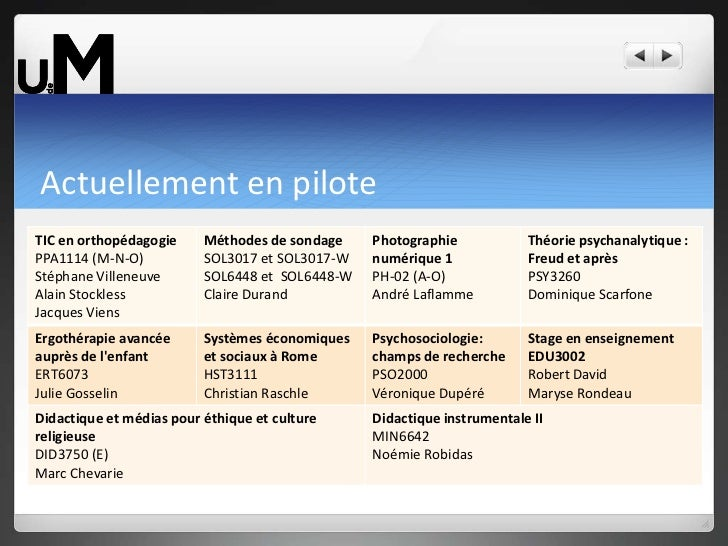 Plan d'accompagnement