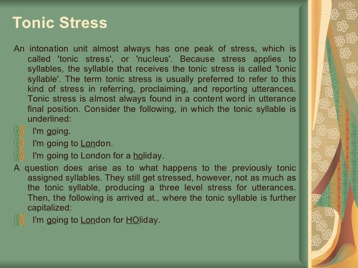 Stress and Intonation in English - YouTube