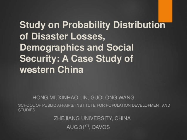 The Role of Probability Distribution in Business Management