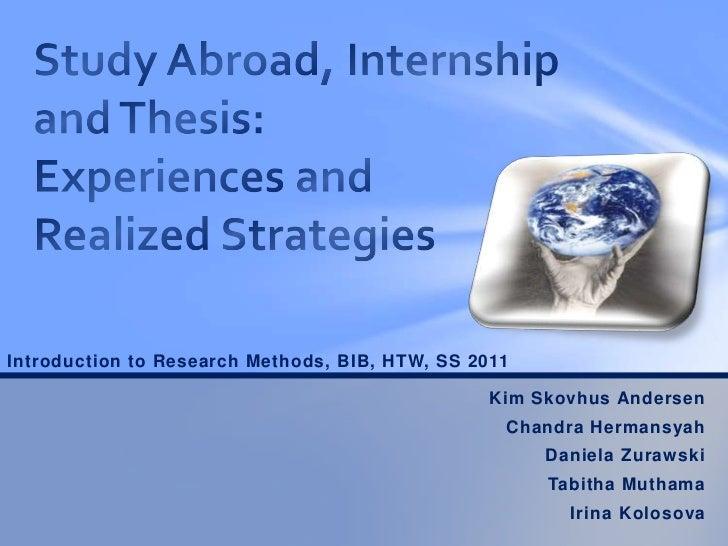 htw bib thesis