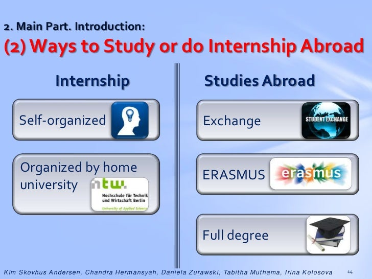 study abroad thesis