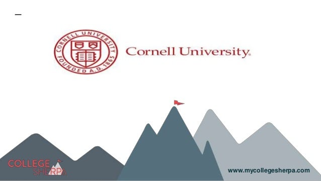 Study Abroad at Cornell University, Admission Requirements