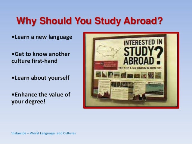 reasons to study abroad essay