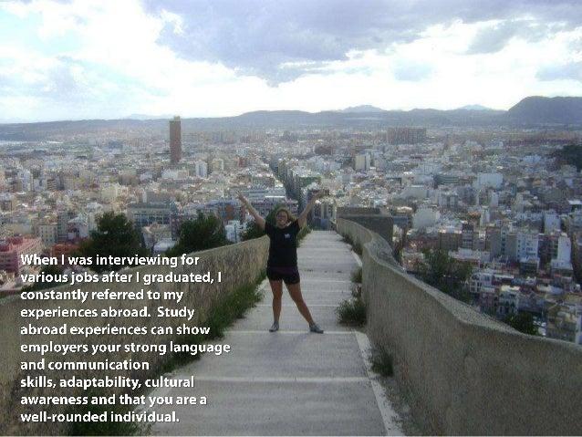 Study abroad slide show