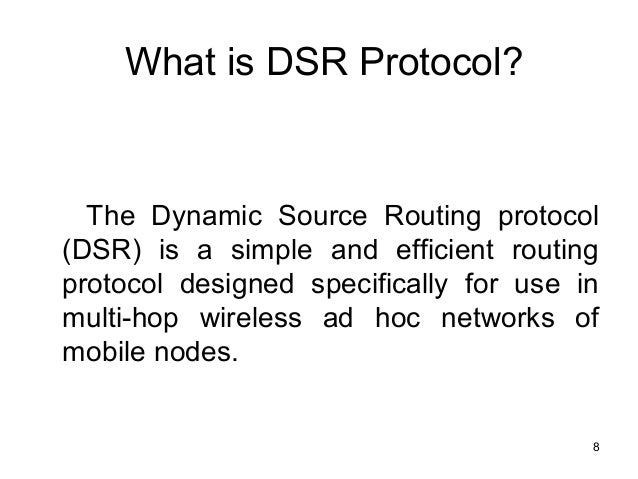 dsdv routing protocol in manet pdf