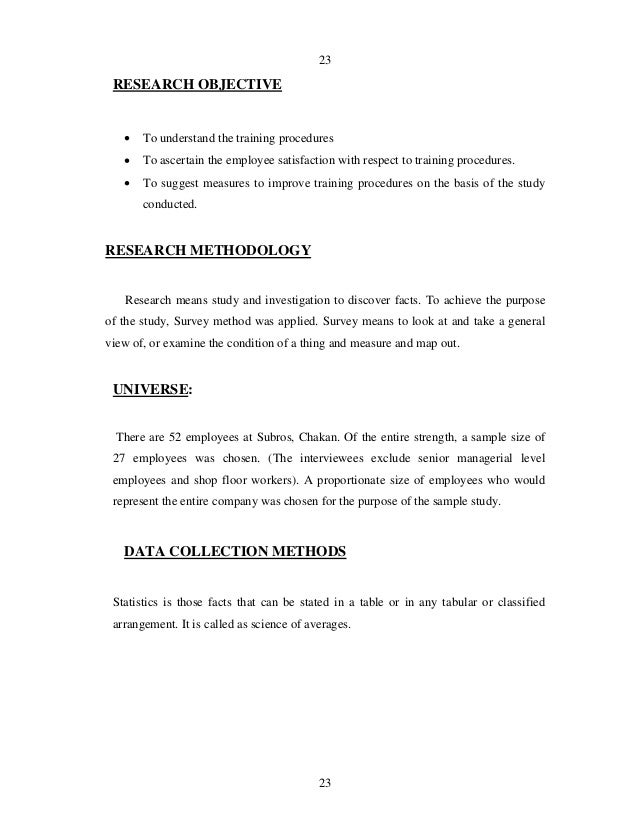 Research methodology thesis vis a vis research methodology