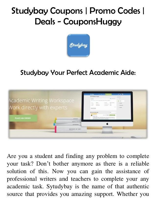 a9baae493cc Studybay Coupons | Promo Codes | Deals - CouponsHuggy