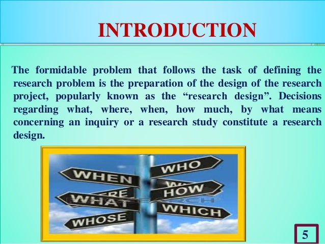what is study design in research methodology This article is about the five major components of research design in research methodology it is concerned with a logical problem and not a logistical problem.