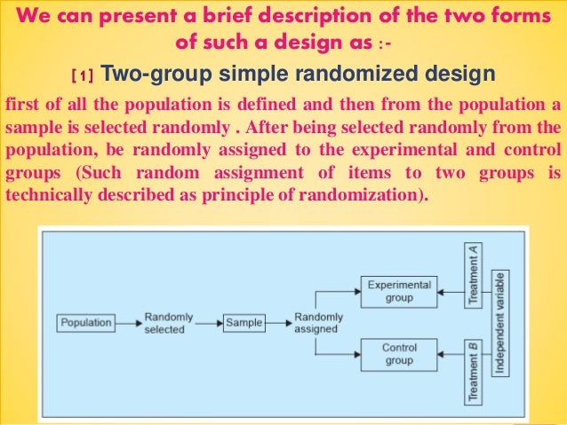 what is study design in research methodology Study method as a research way of using more systematic procedures when doing case study research the needed design (very) brief refresher on the case study.
