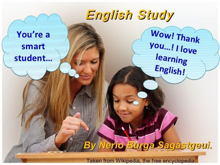 English Study You're a                           Wow! Th                                               ank  smart         ...