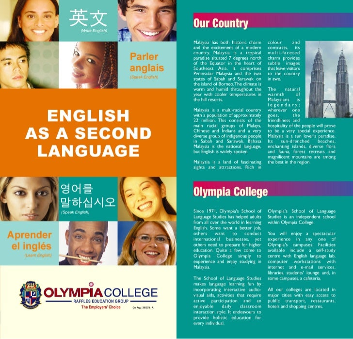 OLYMPIA COLLEGE/ENGLISH COURSE