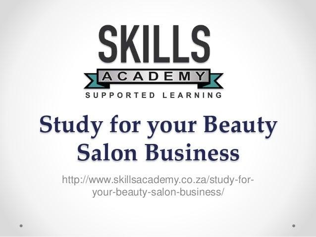 Feasibility study on beauty salon