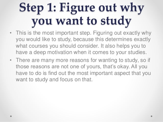 why i want to study business