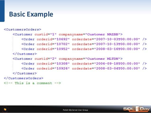 Sql server simple example of reading xml file using t-sql sql.