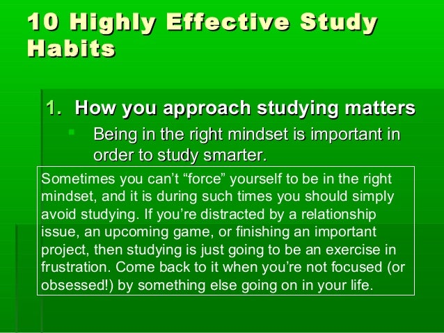 5 Effective Study Habits of Medical Students - TheMDJourney
