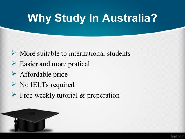 Overseas education opportunities experience and quality