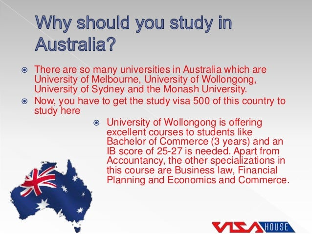Student Visa Australia - Study and Work in Australia
