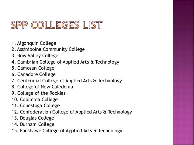 Find Colleges For Study In Canada