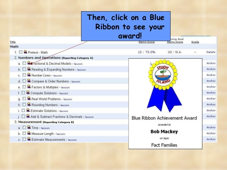Study Island For Students