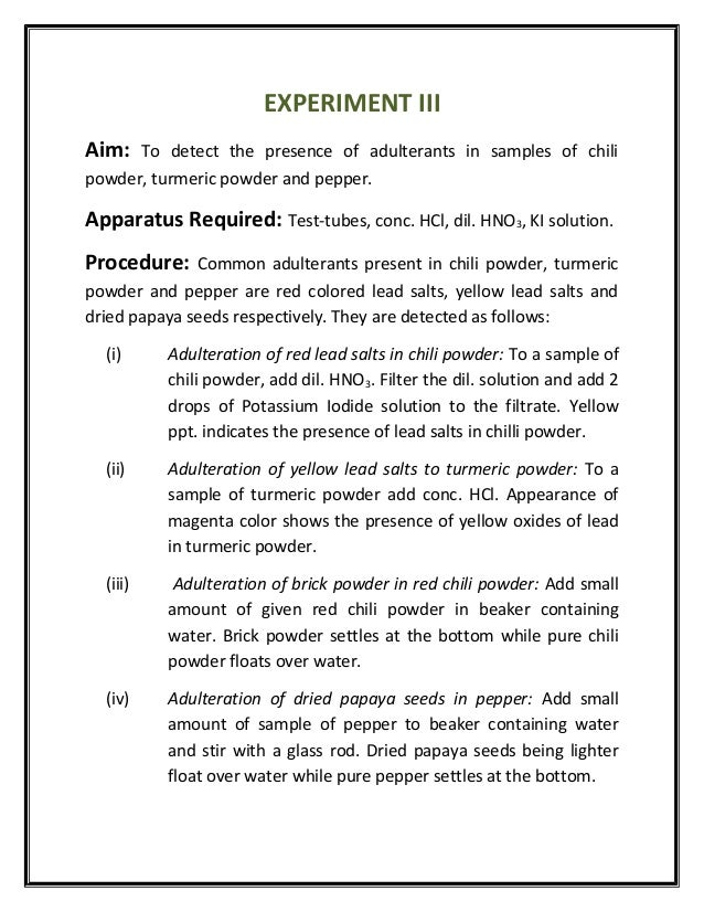conclusion on adulteration of food sample Ielts food additives essay  sample essays  food additives essay  new comments any questions or comments about this.