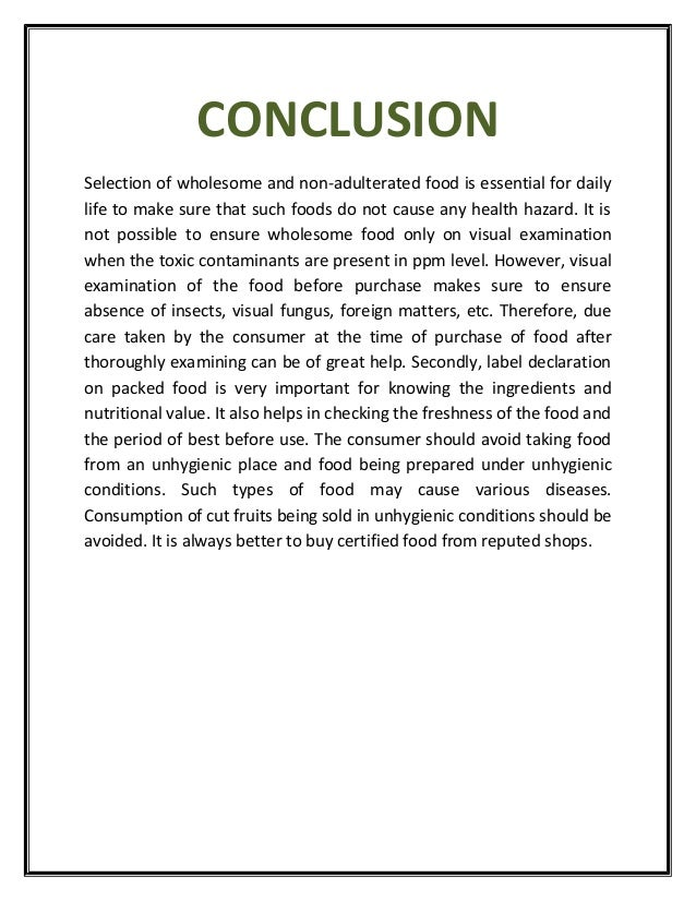 "essay on adulteration of food Essay on ""adulteration"" in hindi sponsored by the wisdom post download free ebooks success now check your email to confirm your subscription there was an."