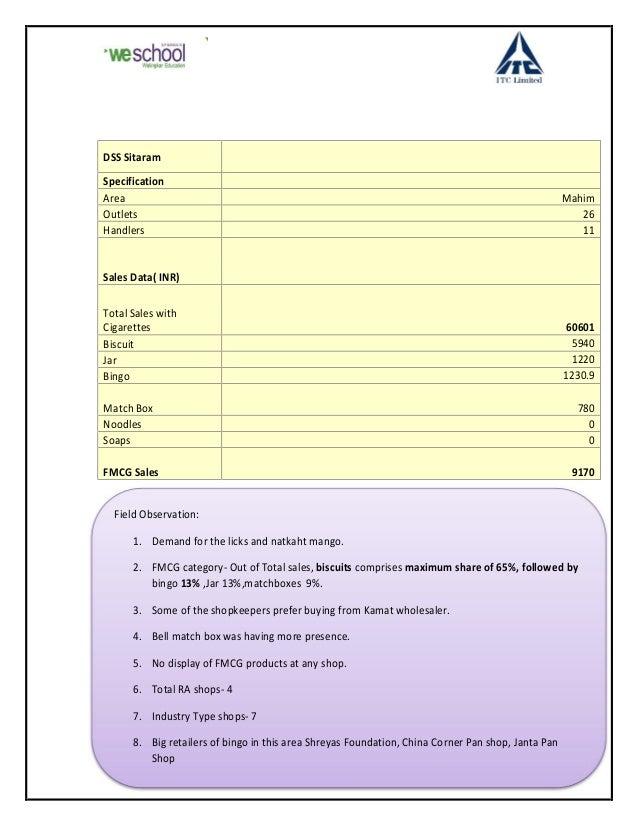 Study of cdm in fmcg sector
