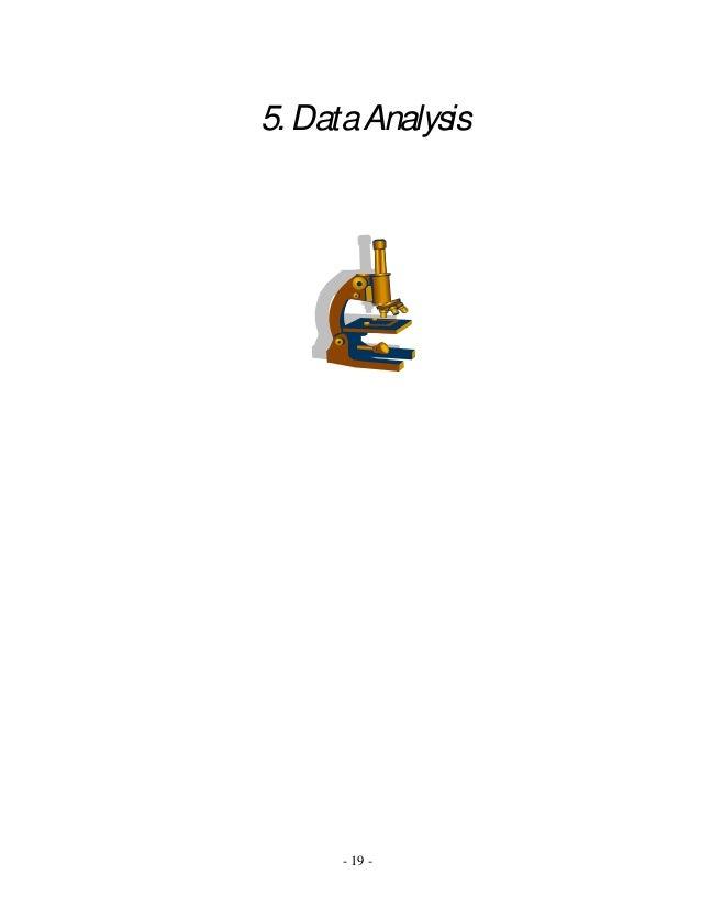 - 19 - 5. DataAnalysis