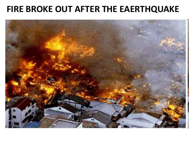 effects of earthquakes fire - photo #7