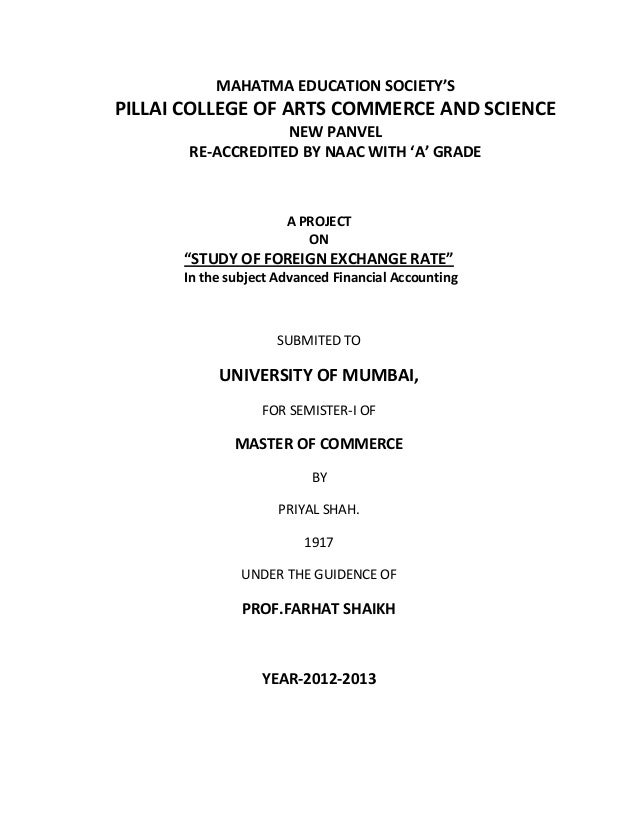 MAHATMA EDUCATION SOCIETY'SPILLAI COLLEGE OF ARTS COMMERCE AND SCIENCE                   NEW PANVEL       RE-ACCREDITED BY...