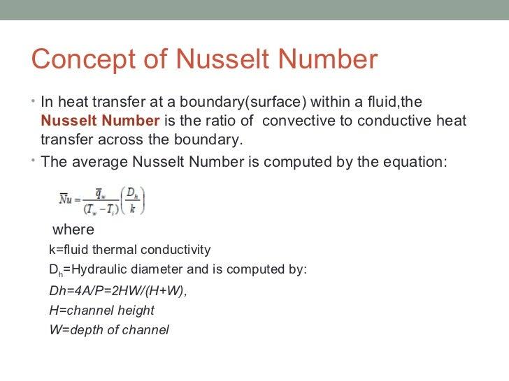 nusselt number equation for laminar flow. 11. concept of nusselt number equation for laminar flow r
